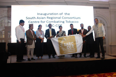 Launch of the South Asian Regional Consortium Centre for Combating Tobacco (SARC-CCT)