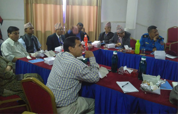 Tobacco Industry Interference Meeting in Nepal