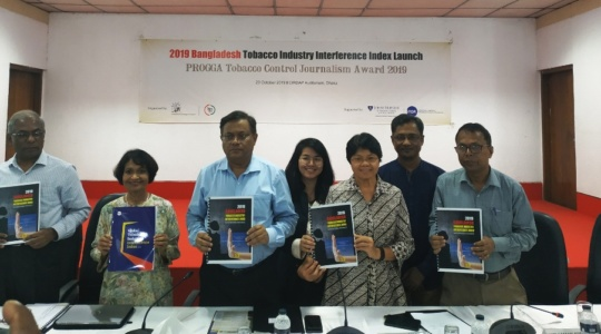 2019 Bangladesh Tobacco Industry Interference Index Launched