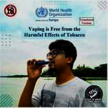 """Voice of Vapers Bangladesh"" illegally uses WHO logo"